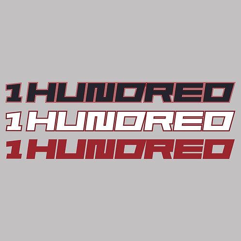 1Hundred - banner