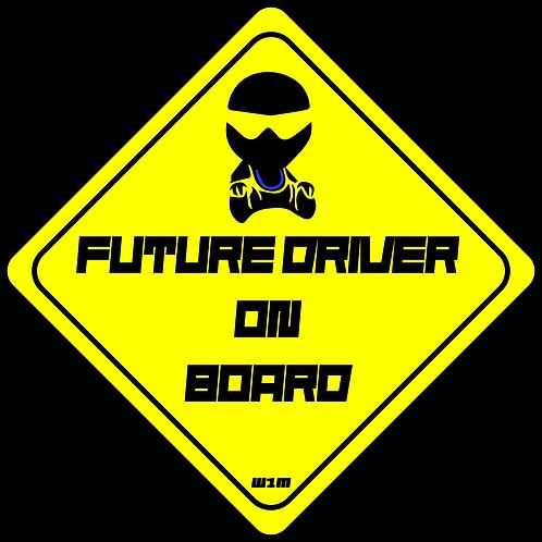 Future Driver On Board Sticker