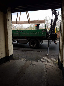 Timber delivery!