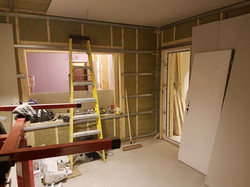 Live Room Construction
