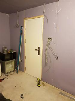 First door