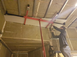 First layer plasterboard
