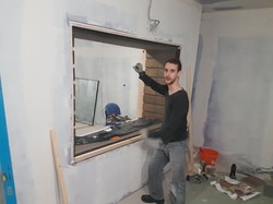 Fitting First Pane
