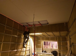 Second layer plasterboard