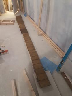 Varnished Wood Slats
