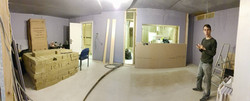 Panorama of the control room