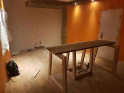 table behind frame 1
