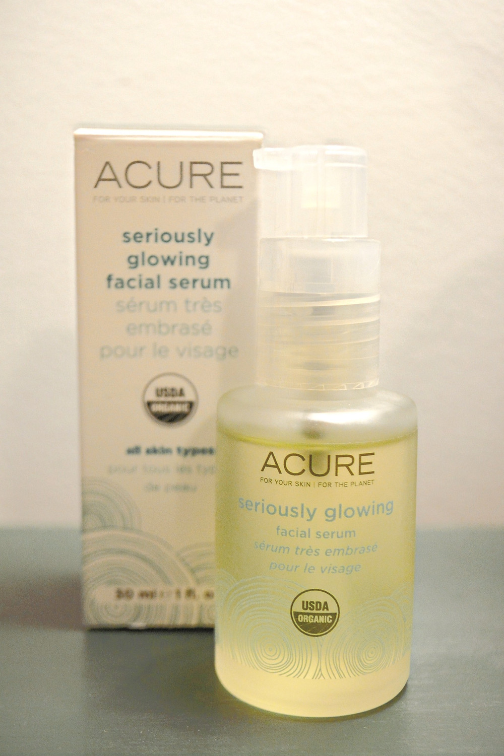 Acure Seriously Glowing Facial Serum