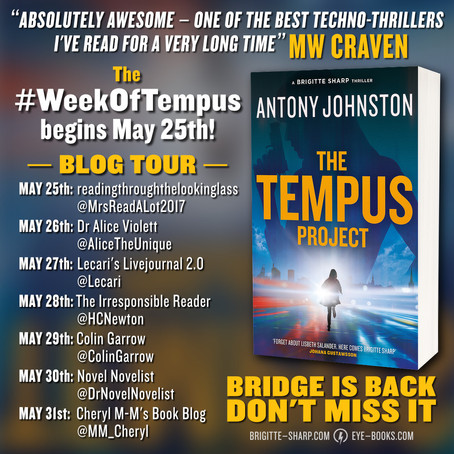 BlogTour: The Tempus Project by Antony Johnston