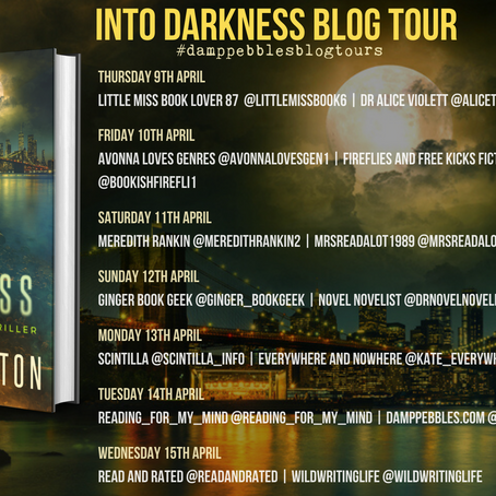 BOOK REVIEW - BLOG TOUR Into Darkness (Shannon Ames, #1) by TJ Brearton