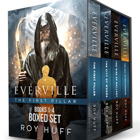 AUTHOR INTERVIEW with Roy Huff, best-selling & award-winning sci-fi & fantasy author