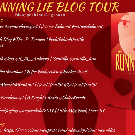 BOOK REVIEW - BLOGTOUR: The Running Lie, by Jennifer Young
