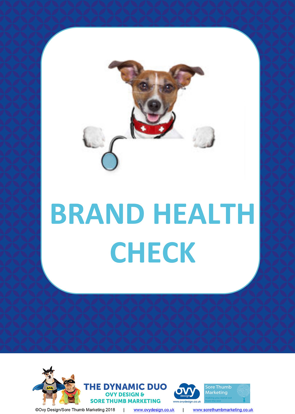 Brand health check dog