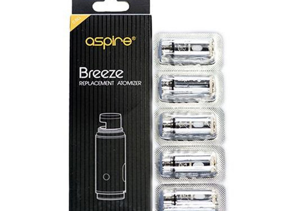 Breeze 2 replacement coils (5 pack)