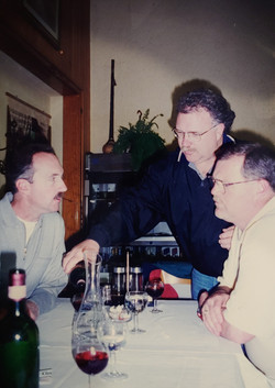 Len Parris, Steve Raible, Richard Corella Tuscany 1997
