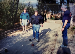 Bocce in Italy