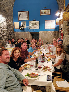 Group Dinner in Cinque Terre