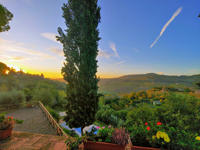 The View from Villa Martiena