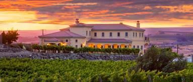 The Villa at Sunset