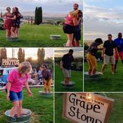 Members Stomping Grapes