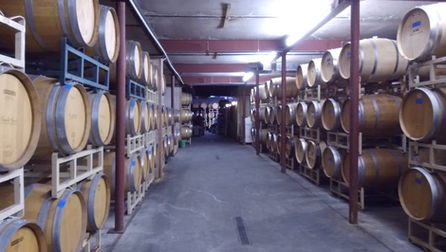 Underground Barrel Room