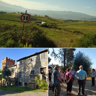 Members tour Tenuta di Sesta