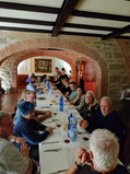 Group Dinner at Villa Martiena