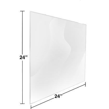 "24"" x 24"" Bulk Plexiglass Package"