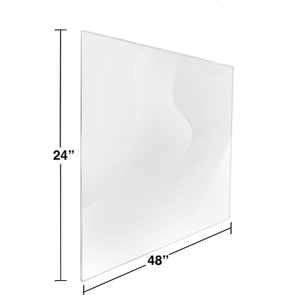 "24"" x 48"" Bulk Plexiglass Package"