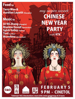 Alternative Chinese New Year Party _ Food _ Drinks _ Music _ Everything