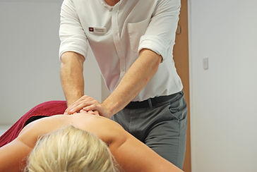 Deep Tissue massage of back