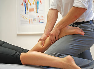 Calf sports masage
