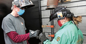 Welding with a side of Compassion