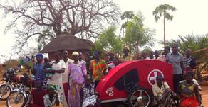 Ambulances arrive in Angola and Uganda