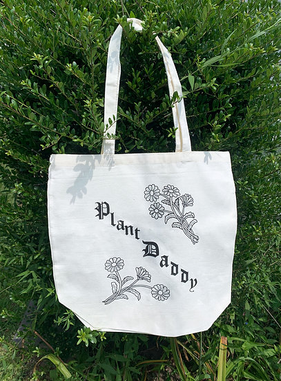 Plant Daddy Tote Bag