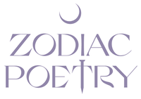 Zodiac Poetry Astrology