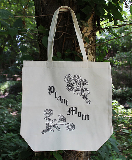 Plant Mom Tote Bag