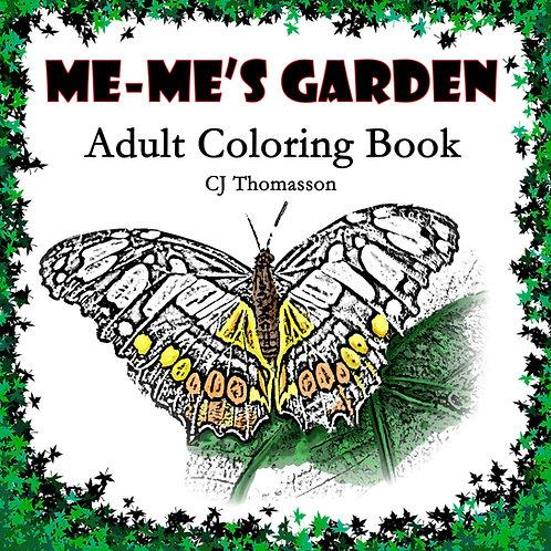 Me-Me's Garden Coloring Book