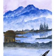 Mountain Watercolor 1