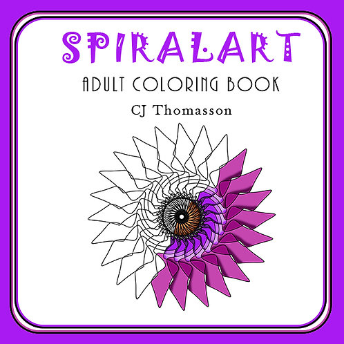 SpiralArt Adult Coloring Book