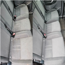Car seats dog hair removal