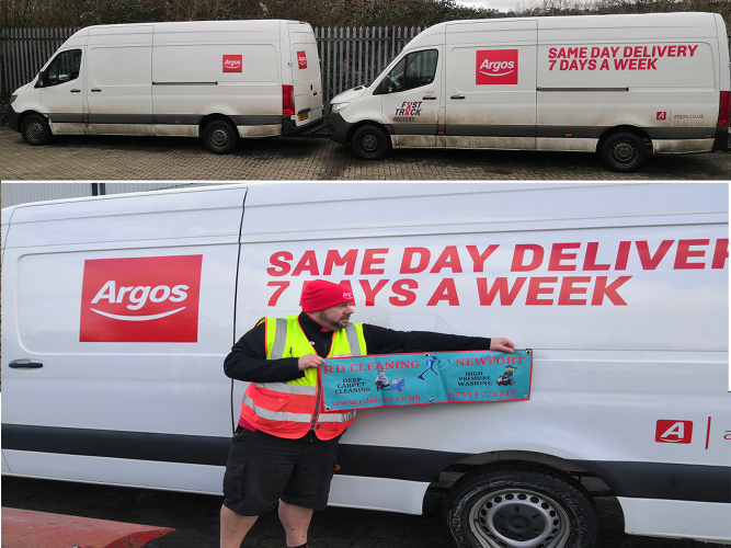 Keeping Argos fleet clean