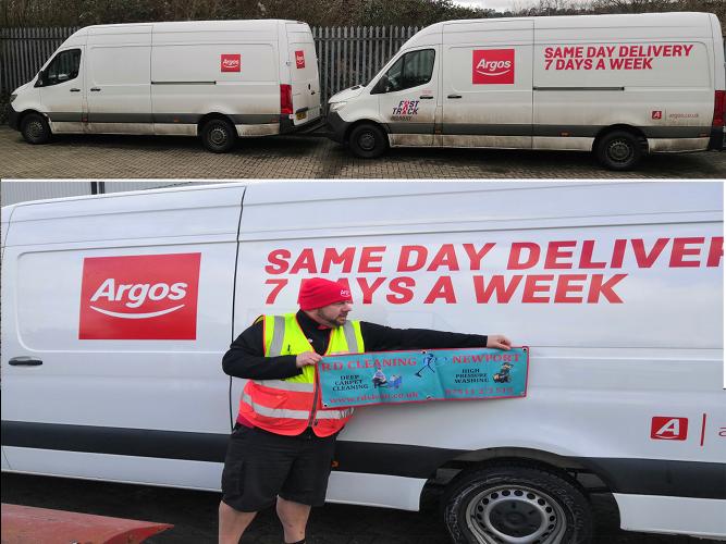 Keeping Argos fleet clean
