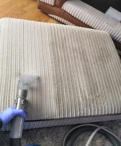 sofa cushion during