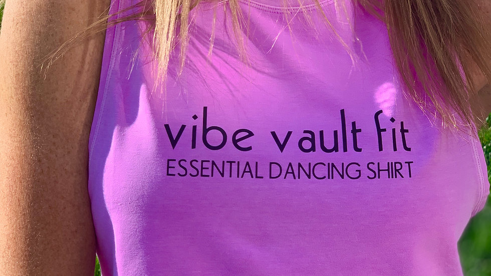 VIBE - Essential Dancing Tank (Cropped)