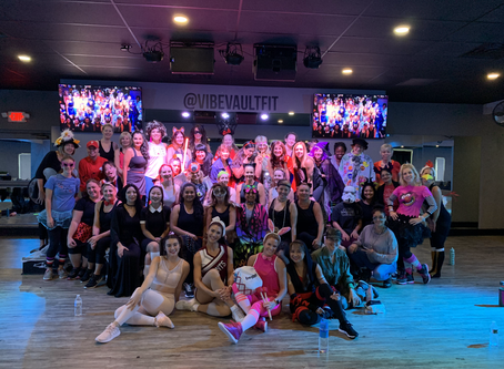 Halloween at Vibe Vault Fit