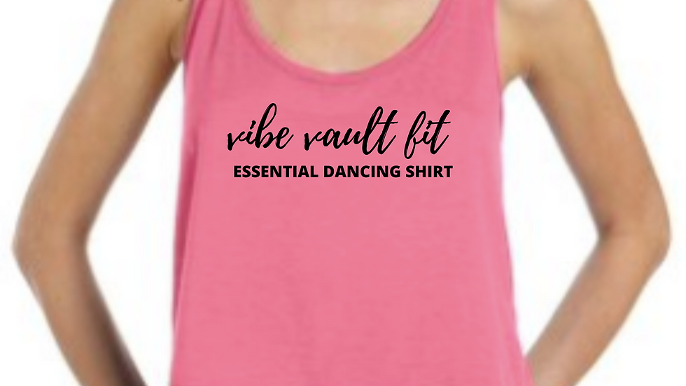 VIBE Essential Dancing Shirt (Cropped Tank)