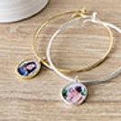 Silver/Gold Charm Bracelet