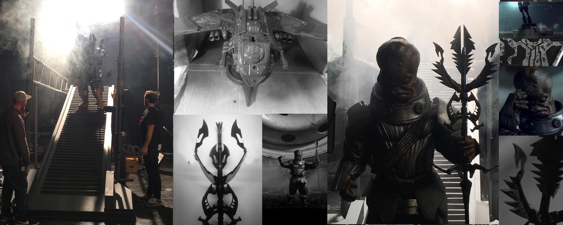 Model design - Thinkbox Alien