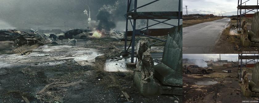 CONCEPT DRAWING UKTV - ARMY SET